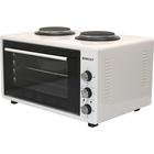 Мини-печь Zarget ZMO 4555BH, 4100 Вт, 45 л, макс. 300 °С, +2 конфорки, белая