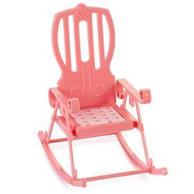 Кресло-качалка «Маленькая принцесса», цвет нежно-розовый