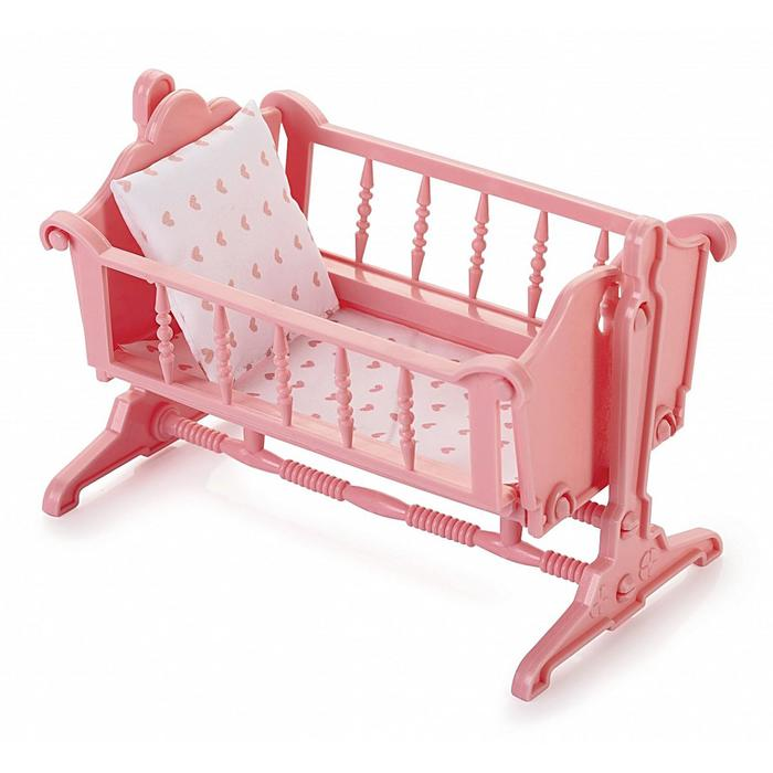 Колыбель «Маленькая принцесса», цвет нежно-розовый