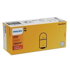 Лампа автомобильная Philips, R5W, 12 В, 5 Вт, 12821CP