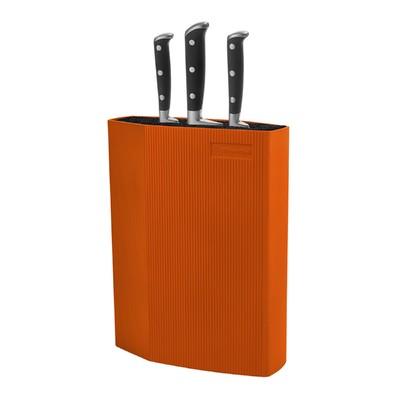 Подставка для ножей Rondell, оранжевая - Фото 1