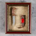 Изделие сувенирное в раме Кинжал, 25*20см