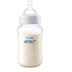 Бутылочка для кормления 330 мл., от 3 мес., средний поток, серия Anti-colic