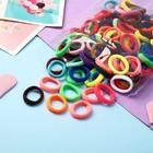 """Резинка для волос """"Махрушка спорт"""" (набор 100 шт) 2,5 см, разноцветные - Фото 1"""