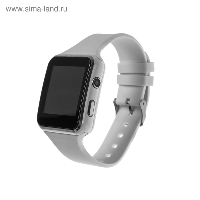 """Смарт-часы Smarterra SmartLife NEO, сенсорный дисплей 1.54"""", sim-карта, белые"""