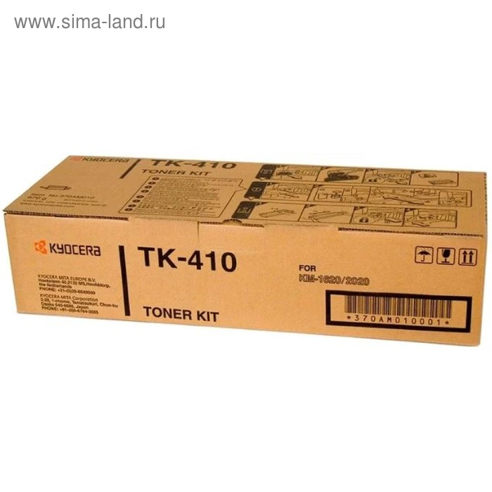 Тонер Картридж Kyocera TK-410 черный для Kyocera KM-1620/1635/1650/2020/2050 (15000стр.)