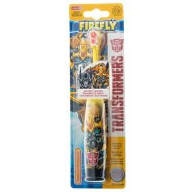 Электрическая зубная щётка Transformers TR-6, вибрационная, 1хАА (в комплекте), МИКС Ош