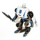 Робот «Полицейский», трансформируется, цвет белый - Фото 3
