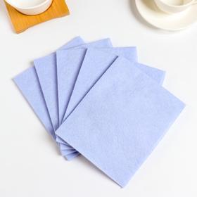 Набор салфеток для кухни из вискозы, 30×38 см, 10 шт, цвет МИКС