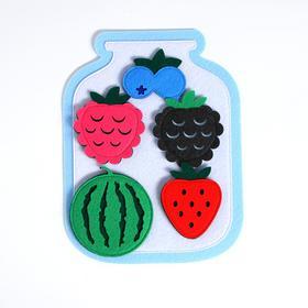 """Развивающая игра """"Банка с ягодами"""""""