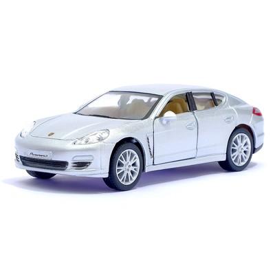 Машина металлическая Porsche Panamera S, масштаб 1:40, открываются двери, инерция, цвет серый
