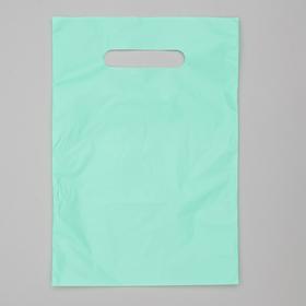 Пакет полиэтиленовый, с вырубной ручкой, тиффани, 20 х 30, 33 мкм Ош