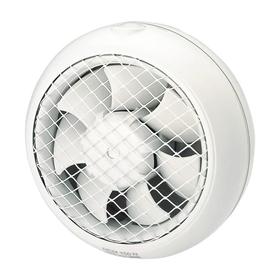 Вентилятор S&P HCM 180N, 220-240 В, оконный, 50/60 Гц, белый Ош