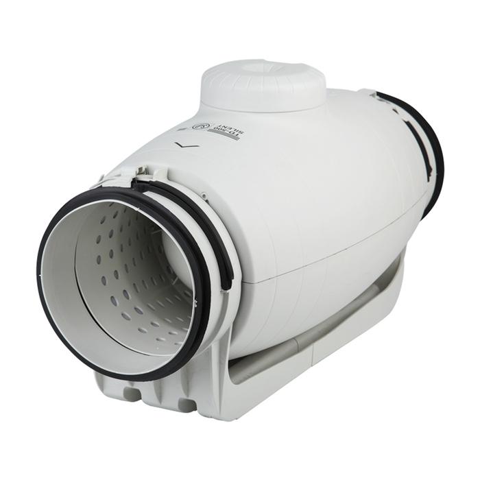 Вентилятор S&P TD250/100 SILENT, 230-240 В, бесшумный, канальный, 50/60 Гц, белый