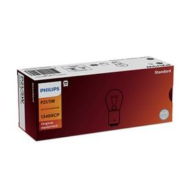 Лампа автомобильная Philips, P21/5W, 24 В, 21/5 Вт, 13499CP