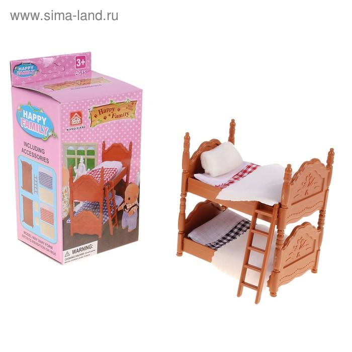 Набор мебели для зверей «Спальня»