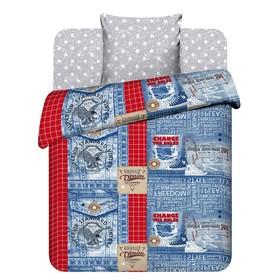 Детское постельное бельё 1,5сп «Твой стиль» Джинса, 145х215, 150х214, 70х70см