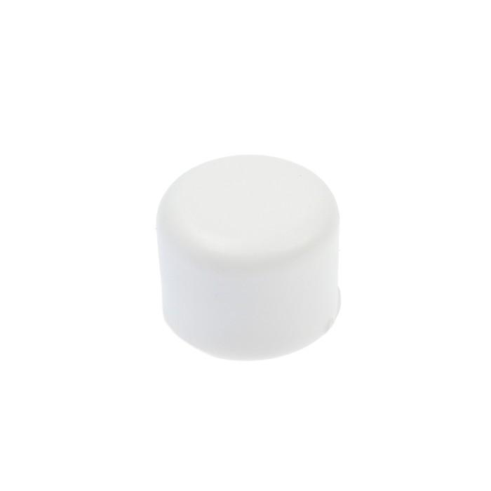 Заглушка LuazonAqua, полипропиленовая, d=20 мм