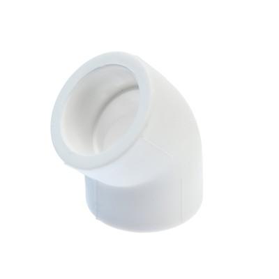 Уголок LuazonAqua, полипропиленовый, d=40 мм, 45°
