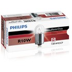 Лампа автомобильная Philips MasterDuty, R10W, 24 В, 10 Вт, 13814MDCP