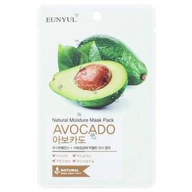 Тканевая маска для лица Eunyul, с экстрактом авокадо