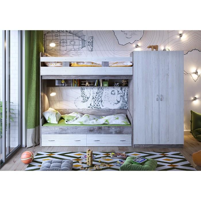 Детская комната Юта комплект №1 бетон/винтерберг