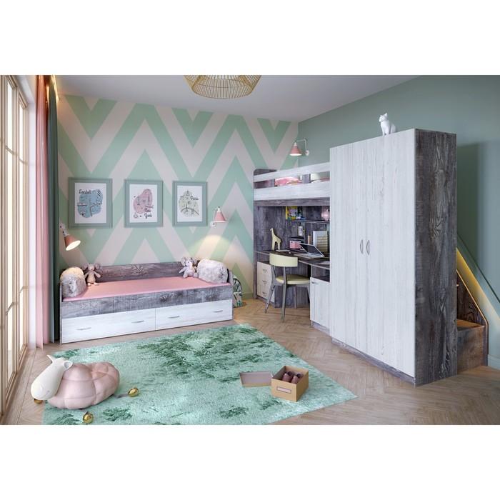 Детская комната Юта комплект №3 бетон/винтерберг