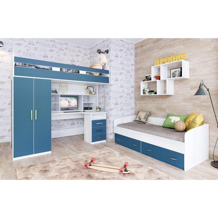 Детская комната Аракс винтерберг/лазурь