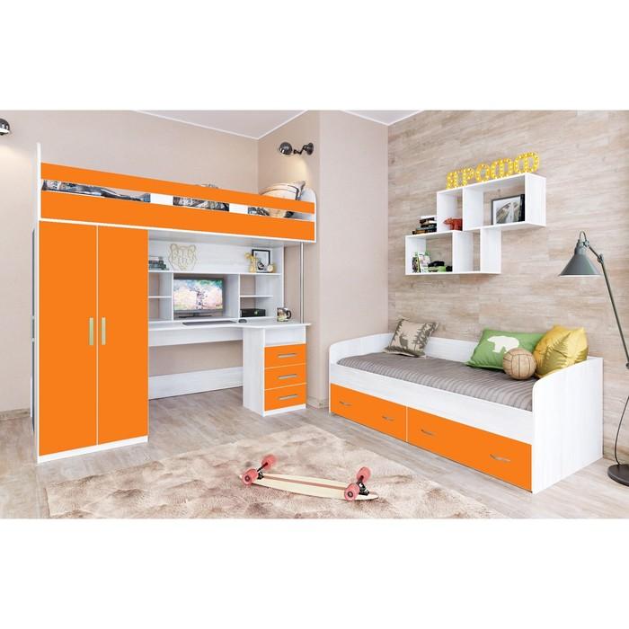 Детская комната Аракс винтерберг/оранжевый