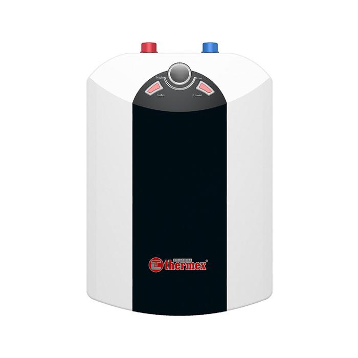 Водонагреватель Thermex IBL 10-U, накопительный, 2.5 кВт, 10 л, верхняя подводка, чёрно-бел.