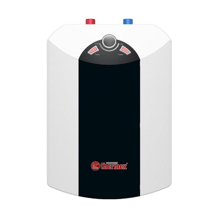 Водонагреватель Thermex IBL 15-U, накопительный, 2.5 кВт, 15 л, верхняя подводка, чёрно-бел.