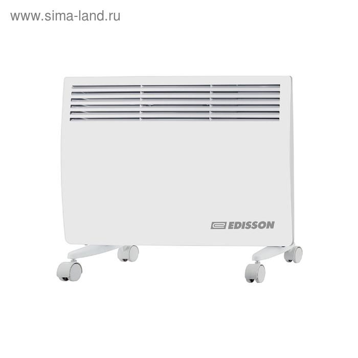 Обогреватель EDISSON S1500UB, конвекционный, 1500 Вт, до 20 м2, белый