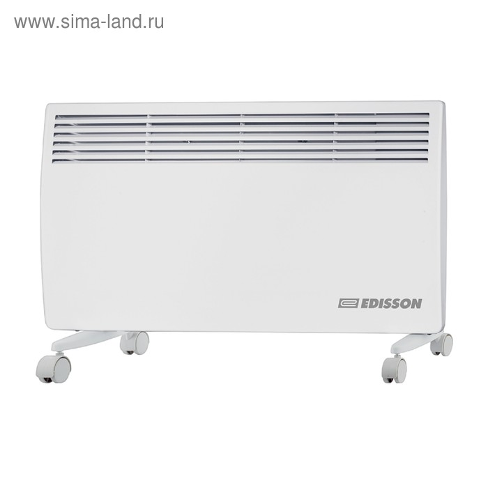 Обогреватель EDISSON S2000UB, конвекционный, 2000 Вт, до 25 м2, белый
