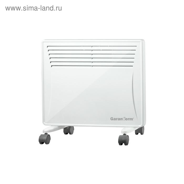 Обогреватель GARANTERM G 05 UL, конвекционный, 500 Вт, 5-8 м2, встроенный ионизатор, белый
