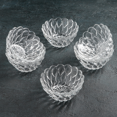 Набор салатников Isfahan Glass Florence, d=11,5 см, 6 шт - Фото 1