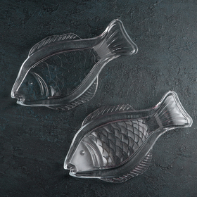 Набор блюд «Fish», 29×16 см, 2 шт