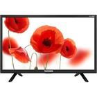 "Телевизор Telefunken TF-LED22S12T2,  22"", 1920x1080, DVB-T2, 1xHDMI, 1xUSB, черный"