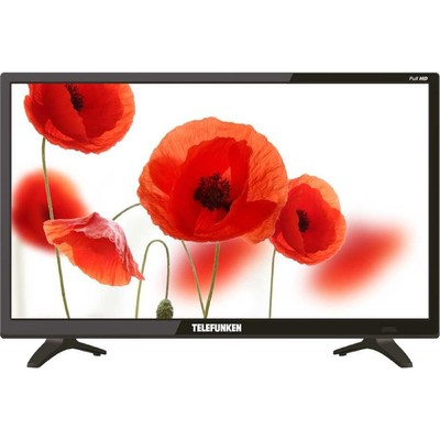 "Телевизор Telefunken TF-LED22S53T2,  22"", 1920x1080, DVB-T2, 1xHDMI, 1xUSB, черный"