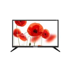 "Телевизор Telefunken TF-LED24S50T2, 24"", 1366x768, DVB-T2, 1xHDMI, 1xUSB, черный"