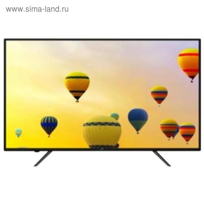 "Телевизор JVC LT-43M680, 43"", 1920x1080, SmartTV, DVB-T2/C, 3xHDMI, 2xUSB, черный"