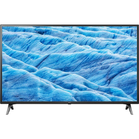 "Телевизор LG 43UM7100, 43"",3840x2160, DVB-T2/C/S2, 3xHDMI, 2xUSB, SmartTV, чёрный"