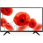 "Телевизор Telefunken TF-LED40S01T2, 40"", 1920x1080, DVB-T2, 2xHDMI, 1xUSB, черный"