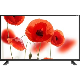 "Телевизор Telefunken TF-LED40S61T2, 40"", 1920x1080, DVB-T2, 3xHDMI, 1xUSB, черный"