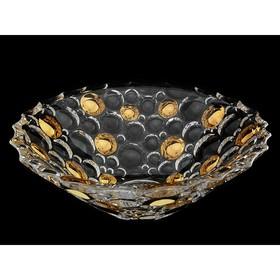 Салатник 30см Lisboa «Золотые шары»
