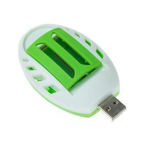 Фумигатор LuazON LRI-10, работает от USB, бело-зеленый Ош