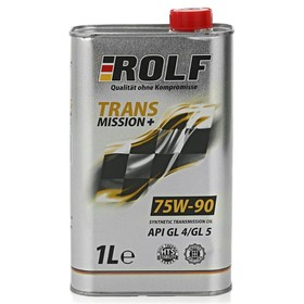 Масло трансмиссионное Rolf Plus 75W-90, API GL-4/5, синтетическое 1 л