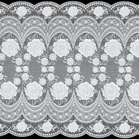 Салфетка «Ажурная», 50 см, цвет рулон 20 п. м, цвет белый