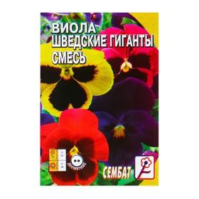 Семена цветов Виола 'Шведские гиганты' смесь, Дв, 0,05 г Ош