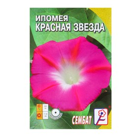 Семена цветов Ипомея 'Красная Звезда', О, 0,5 г Ош