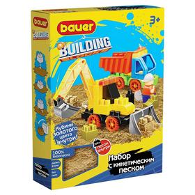Конструктор Building Kinetic, набор с трактором и грузовиком